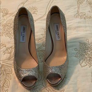 Jimmy Choo Luna 100 Platform heels